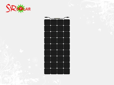 120W Semi-flexible Solar Panel